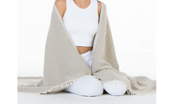 Linen Cotton Throw