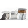 Pompom  Linen Cushion Set