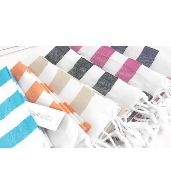 Striped Soft Hand Towel