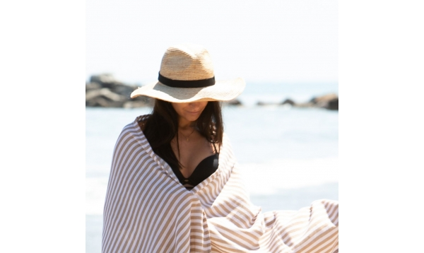 Sweet Striped Beach Towel