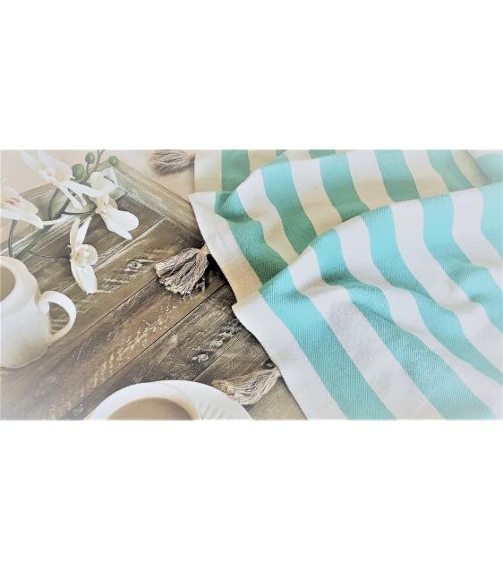 Sweet Striped Blanket